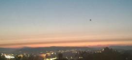 Invadează extratereștrii? OZN capturat deasupra orașului Swansea